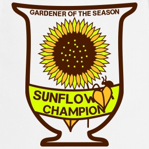 Gardener of the season - Sunflower cup - Cooking Apron