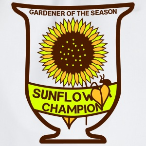 Gardener of the season - Sunflower cup - Drawstring Bag