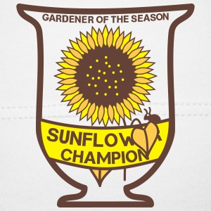 Gardener of the season - Sunflower Pokal Baby Mütze - Baby Mütze