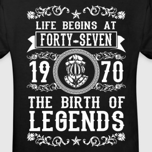 1970 - 47 years - Legends - 2017 Shirts - Kids' Organic T-shirt