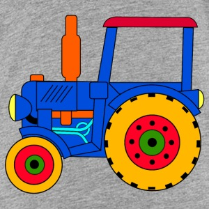 blue tractor / toy Shirts - Kids' Premium T-Shirt