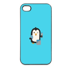 Penguin egg - case Phone & Tablet Cases - iPhone 4/4s Hard Case