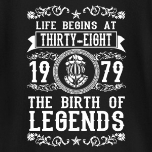 1979 - 38 years - Legends - 2017 Baby Long Sleeve Shirts - Baby Long Sleeve T-Shirt