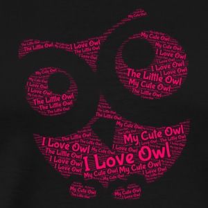 Lovely Owl - Men's Premium T-Shirt