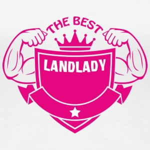The best landlady T-Shirts - Women's Premium T-Shirt