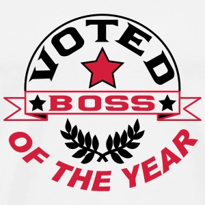 Voted boss of the year T-Shirts - Men's Premium T-Shirt