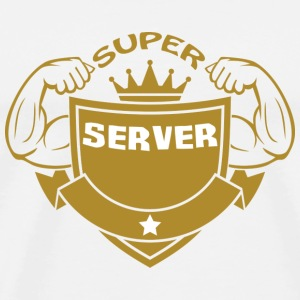 Super server T-Shirts - Men's Premium T-Shirt