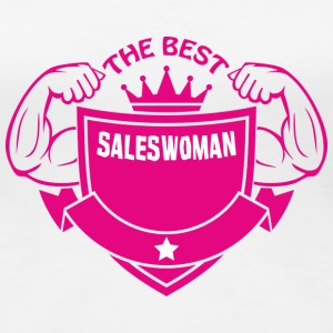 The best saleswoman T-Shirts - Women's Premium T-Shirt