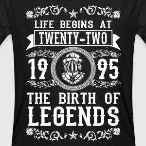 1995 - 22 years - Legends - 2017 Camisetas - Camiseta ecológica hombre