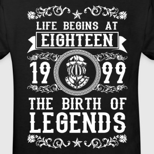1999- 18 years - Legends - 2017 Tee shirts - T-shirt Bio Enfant