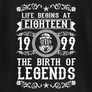 1999- 18 years - Legends - 2017 Baby Long Sleeve Shirts - Baby Long Sleeve T-Shirt