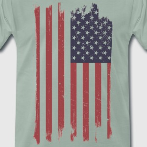 USA Flag - Men's Premium T-Shirt