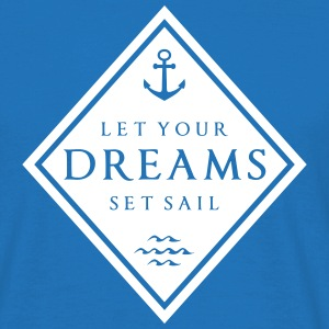 lyd_set_sails_subgirl T-Shirts - Men's T-Shirt
