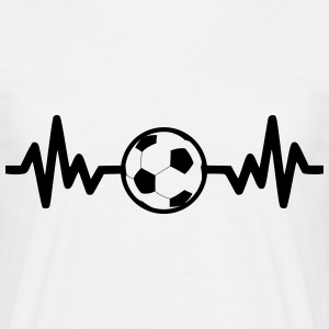 fotboll, Football t-shirt, soccer  - T-shirt herr