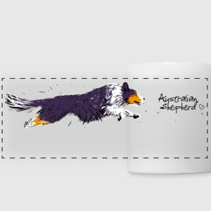 Australian Shepherd Mugs & Drinkware - Panoramic Mug