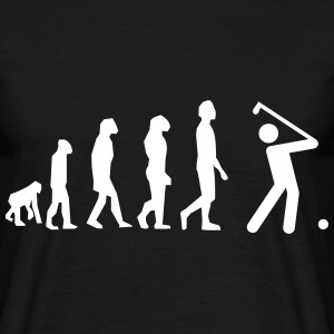 Golf evolution, golf t-shirt  - T-shirt herr