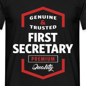 First Secretary | Gift Ideas - Men's T-Shirt