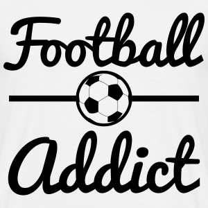 Football Addict, soccer  T-shirts - T-shirt herr