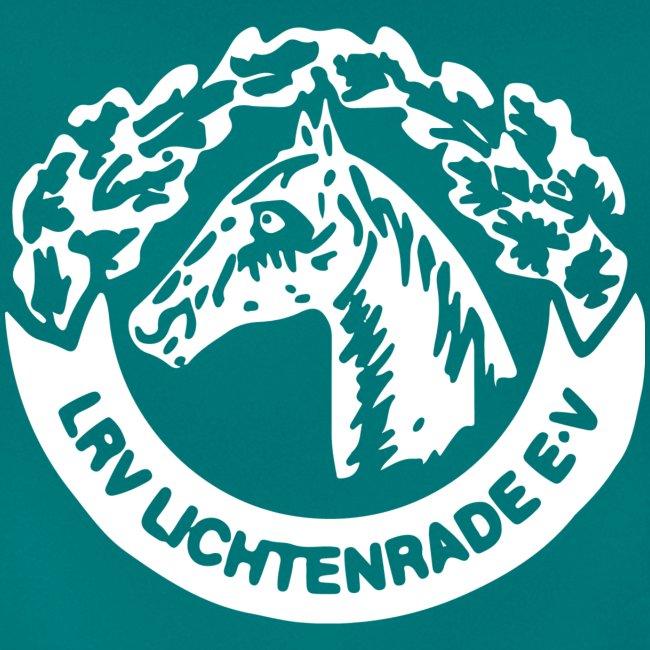 Petrol Shirt mit LRV-Logo vorn und hinten