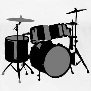 Drums T-Shirts - Women's Premium T-Shirt