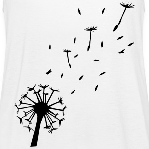 Flying Dandelion - dente di leone Top - Top da donna della marca Bella
