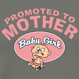Promoted To Mother Baby Girl (CUSTOMIZE ADD DATE) - Men's Premium T-Shirt