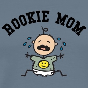 New Mother Rookie Mom (CUSTOMIZE ADD DATE YEAR) - Men's Premium T-Shirt