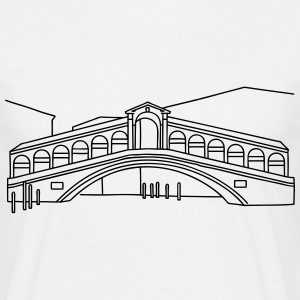 Rialto Bridge Venice T-Shirts - Men's T-Shirt