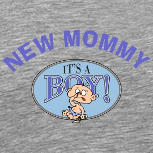 New Mommy It's A Boy (CUSTOMIZE ADD DATE YEAR) - Men's Premium T-Shirt