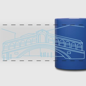 Rialto Bridge Venice Mugs & Drinkware - Full Color Panoramic Mug