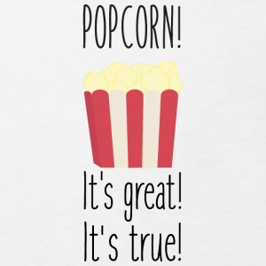 Popcorn! its great Shirts - Kinderen Bio-T-shirt
