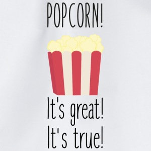 Popcorn! its great Bags & Backpacks - Drawstring Bag
