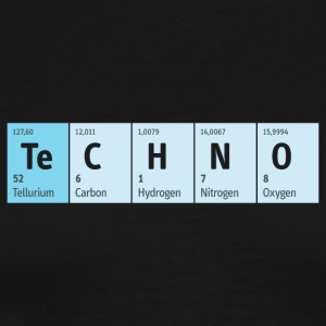 Techno Beat Dance Music Industrial Minimal House - Männer Premium T-Shirt