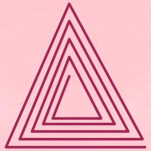 Hipster Triangle T-Shirts - Women's Premium T-Shirt