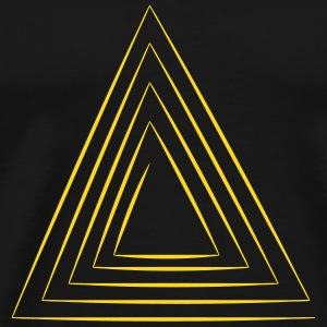 Triangle Tee shirts - T-shirt Premium Homme