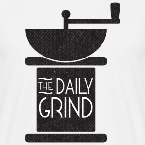 Daily Coffee Grind - Men's T-Shirt