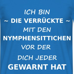 Nymphensittich T-Shirts - Männer T-Shirt