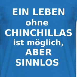 ,Chinchilla - Männer T-Shirt