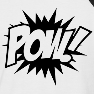 Pow! Tee shirts - T-shirt baseball manches courtes Homme