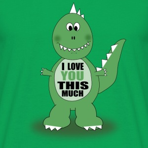 Dino Love Tee shirts - T-shirt Homme