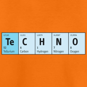 Techno Beat Dance Music Industrial Minimal House - Kinder Premium T-Shirt