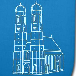 Munich Frauenkirche Bags & Backpacks - EarthPositive Tote Bag