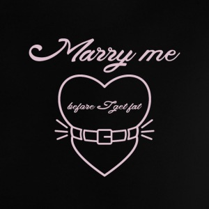 Marry me before I get fat Camisetas Bebés - Camiseta bebé