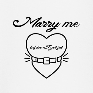 Marry me before I get fat Baby Long Sleeve Shirts - Baby Long Sleeve T-Shirt