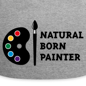 Natural Born Painter (PNG) Caps & Mützen - Jersey-Beanie