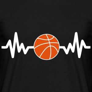 Basket, basket-ball is life  - Männer T-Shirt