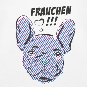 Frensh Bulldog Tops - Vrouwen Premium tank top