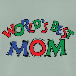 World's Best Mom - Men's Premium T-Shirt