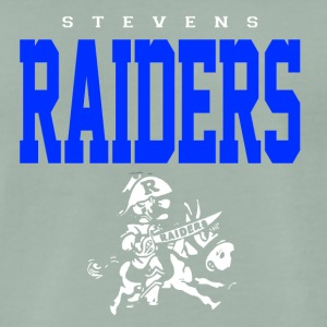 Stevens Raiders with horse - Männer Premium T-Shirt