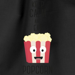 Popocorn food Bags & Backpacks - Drawstring Bag